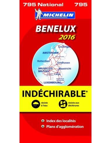 MN 795 Benelux 2017 térkép - vízálló,...