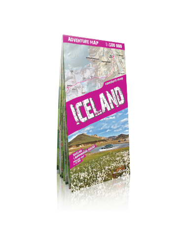 Iceland adventure comfort! map -...