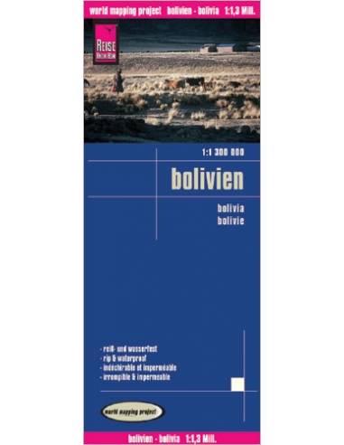 RKH Bolivien - Bolívia térkép