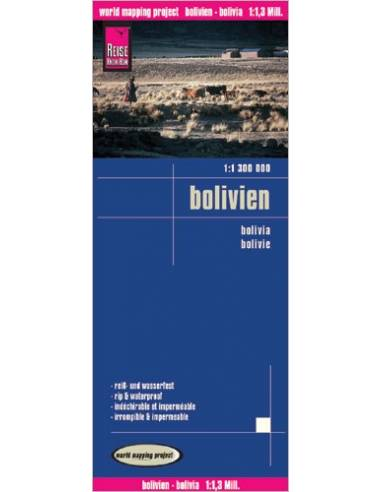 RKH Bolivien (Bolívia) térkép