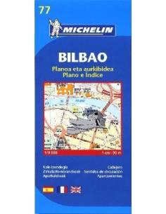 MN 77 Bilbao térkép