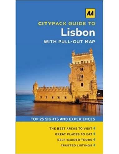AA CityPack Guide to Lisbon - Lisszabon