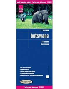 RKH Botswana térkép