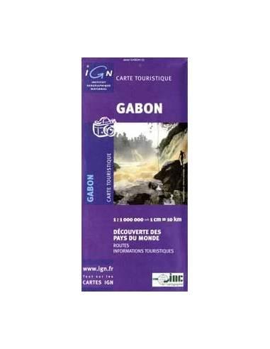 Gabon térkép