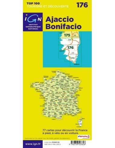 IGN 176 Ajaccio-Bonifacio kerékpáros...