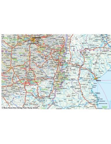 Rkh Sudliches Afrika Botswana Lesotho Mosambik Namibia