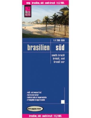 RKH Brasilien, Süd (Dél-Brazília) térkép