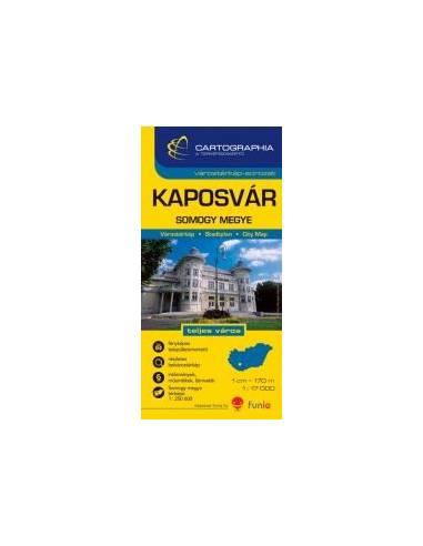 Kaposvár - Somogy megye várostérkép