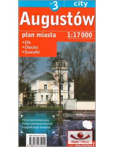 Augustów +3 város térkép