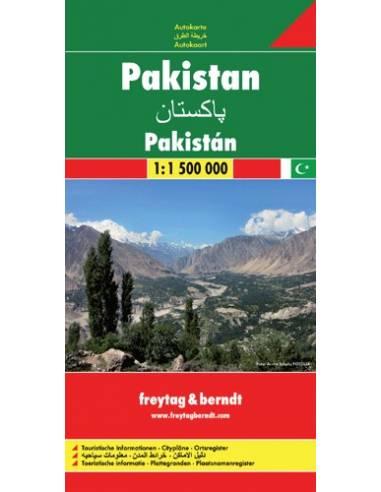 Pakistan - Pakisztán térkép