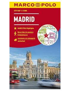 Madrid city map /Marco Polo