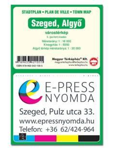 Szeged és Algyő várostérkép
