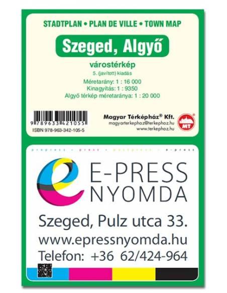 Szeged Es Algyo Varosterkep