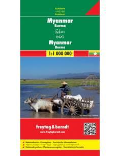 Burma (Myanmar) térkép