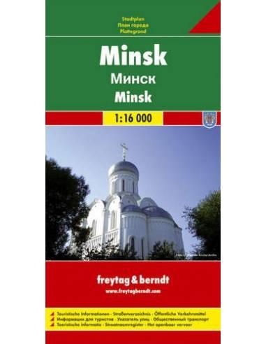 Minszk térkép