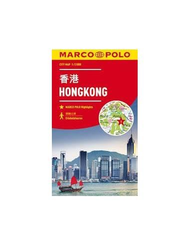 Hongkong city map Marco Polo
