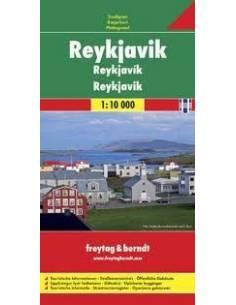Reykjavík térkép