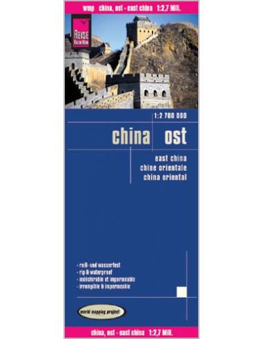 RKH China, Ost (Kelet-Kína) térkép
