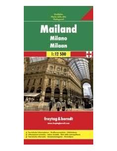 Milánó térkép