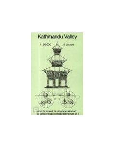 Kathmandu völgy térkép