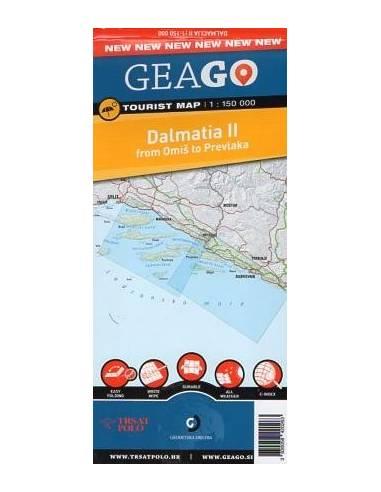 Dalmácia II. térkép