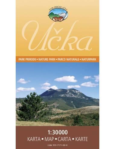 Ucka Naturpark turistatérkép
