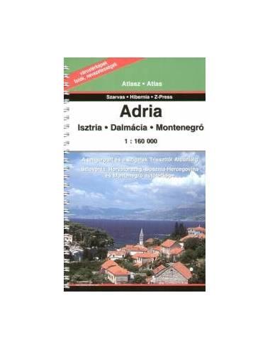 Adria atlasz - Isztria, Dalmácia,...