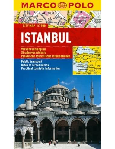 ISTANBUL CITY MAP / ISZTAMBUL (MARCO...