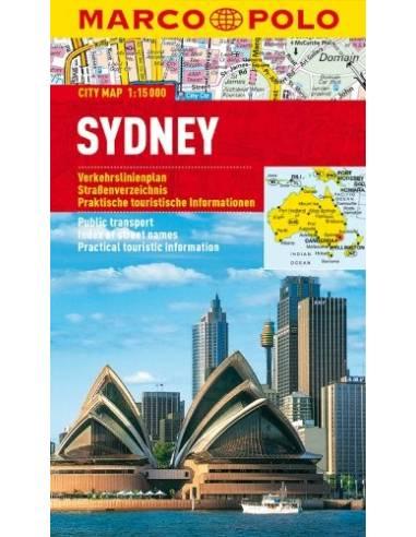 Sydney city map laminált - MARCO POLO