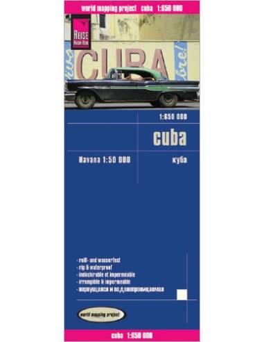 RKH Cuba, Havanna térkép (Kuba és...