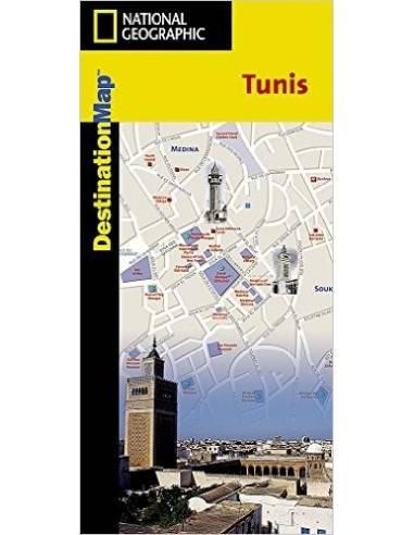 Tunisz belváros térkép