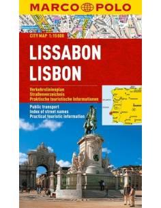 Lissabon city map - MARCO POLO