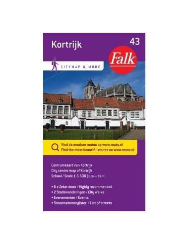 Kotrijk belváros térkép (43)