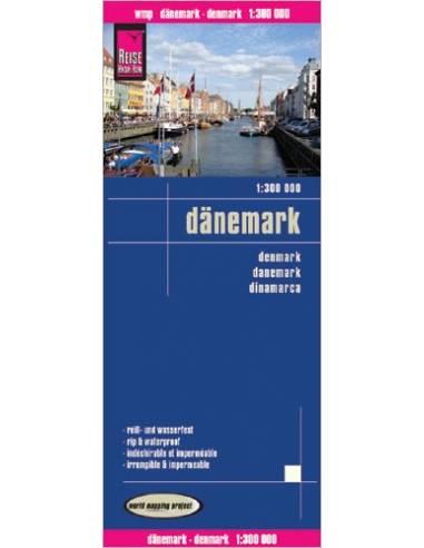 RKH Dänemark - Dánia térkép