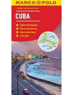 Cuba - Kuba térkép (Marco...