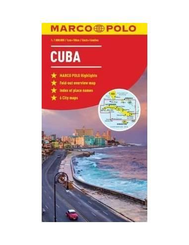 Cuba - Kuba térkép (Marco Polo)