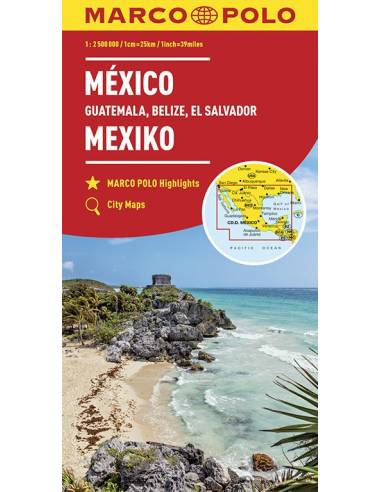 Mexikó, Guatemala, Belize, El...