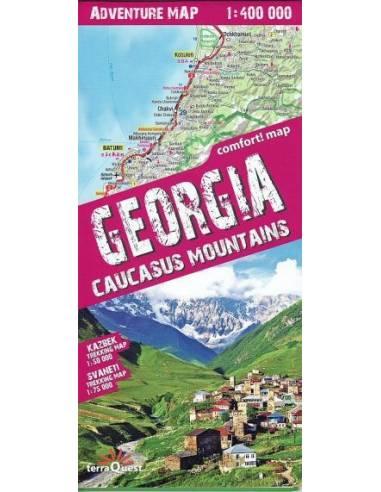 Georgia adventure comfort! map - Grúz...