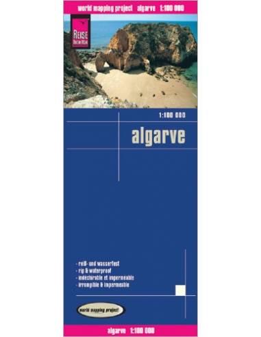 RKH Algarve - Dél-Portugália térkép