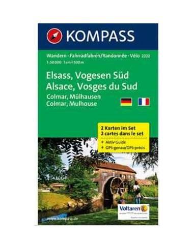 Kk 2222 Elsass, Vogesen Süd, Colmar,...
