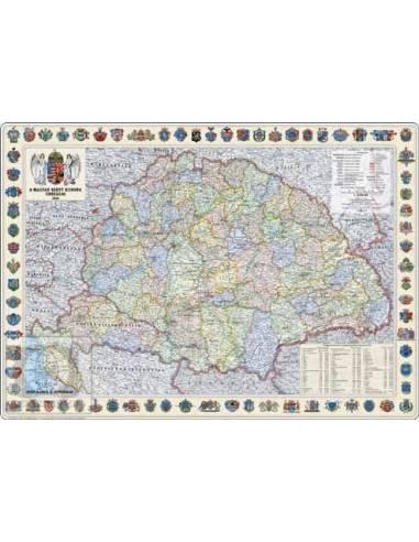 Magyar Szent Korona Országai térkép...