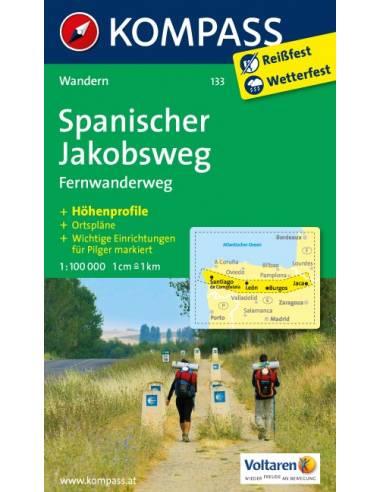 KK 133 Spanischer Jakobsweg - Szent...