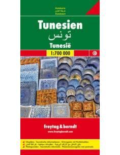 Tunézia térkép
