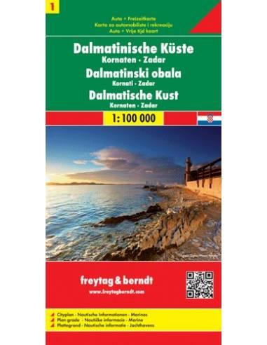 Dalmát tengerpart 1: Kornaten-Zadar...