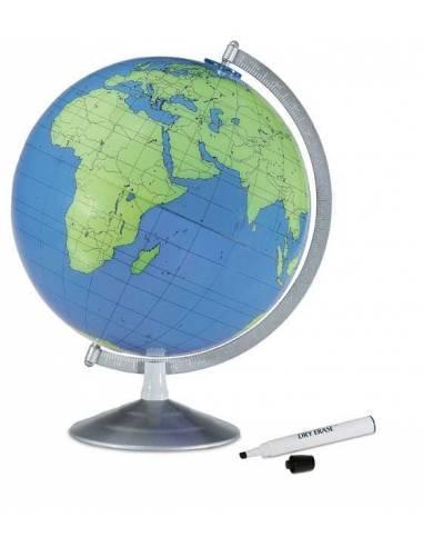 Geographer vaktérképes földgömb