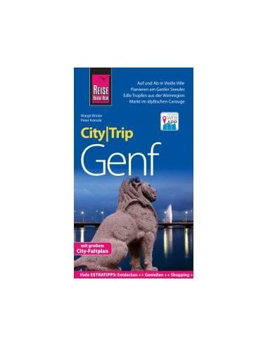 RKH CityTrip Genf - Genf térképes...