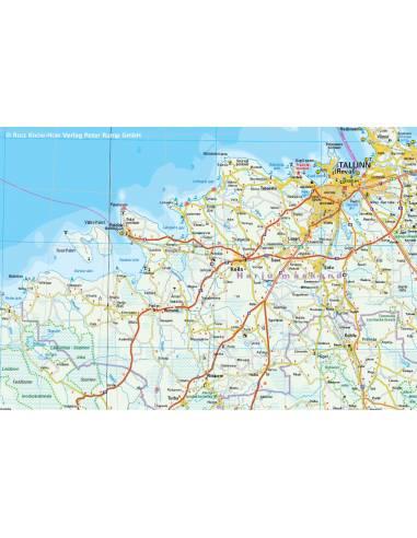 RKH Estland (Észtország) térkép