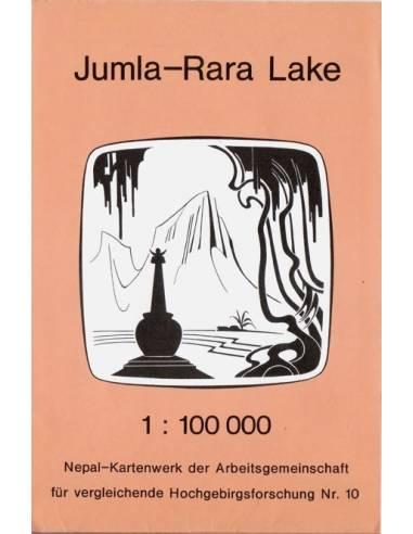 Jumla-Rara tó térkép