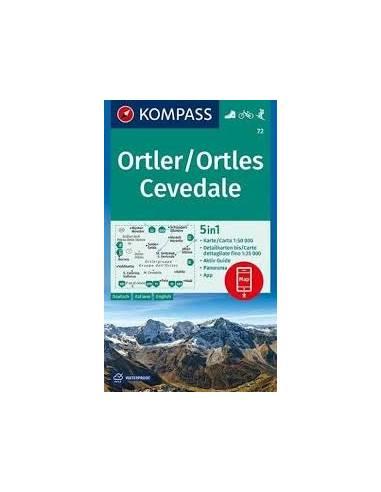 KK 72 Ortler - Ortles Cevedale túra-,...