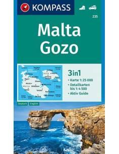KK 235 Málta - Gozo túra-...